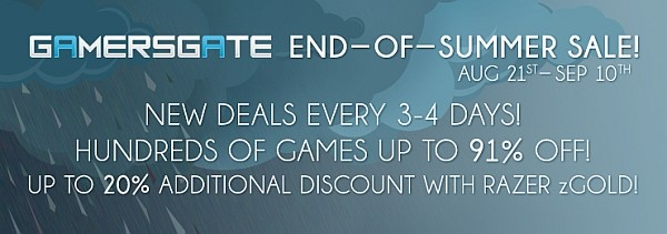 GamersGate End of Summer Sale